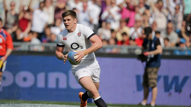 Owen Farrell back in side for second Test in Dunedin