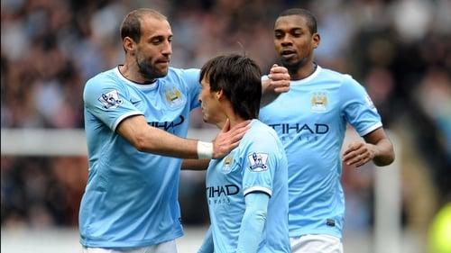 David Silva opened the scoring after 14 minutes