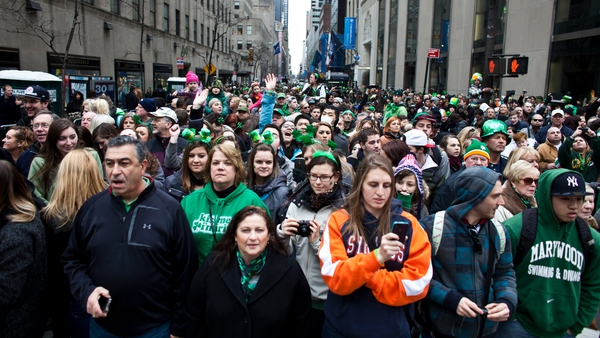 People at last year's parade in New York