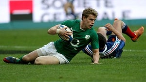 Followed soon after by Andrew Trimble
