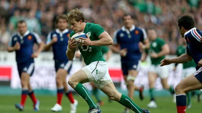 Andrew Trimble has been voted IRUPA Players' Player of the Year
