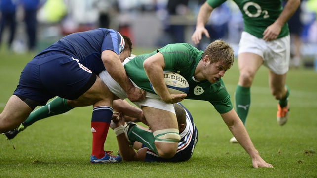 New faces in Ireland squad for Baa-Baas clash