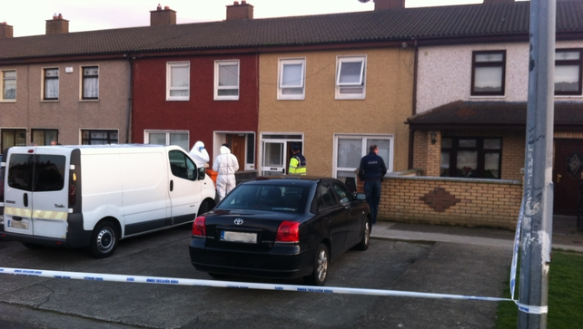 The shooting happened at a house in Killinarden Place this afternoon