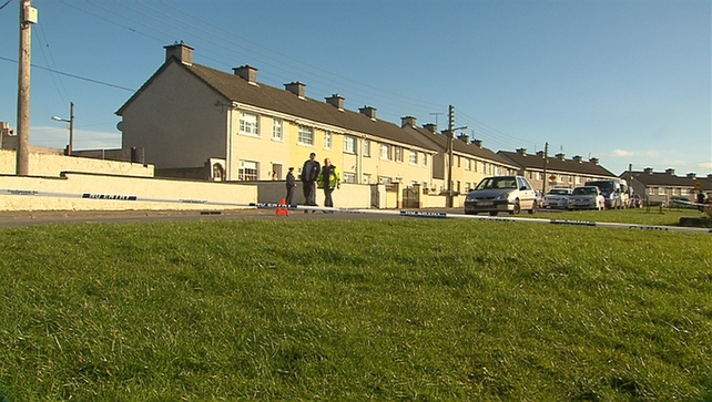 The child was hit by the van in St Brigid's Place in Portlaoise