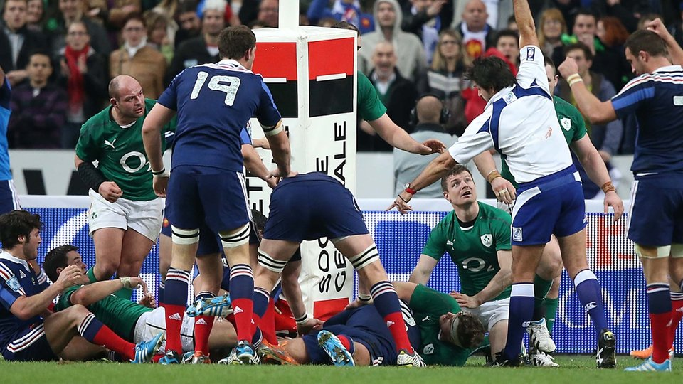 Dimitri Szarzewski's try got France right back in to the game