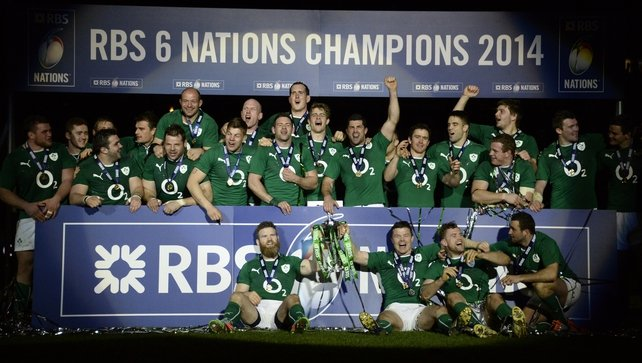 Ireland won the Six Nations Championship after beating France 22-20 in Paris