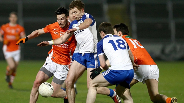 Monaghan got the better of Armagh at the Athletic Grounds