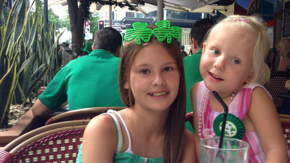 St Patrick's Day celebrations in Brisbane (Pic: Padraig O Luanaigh)