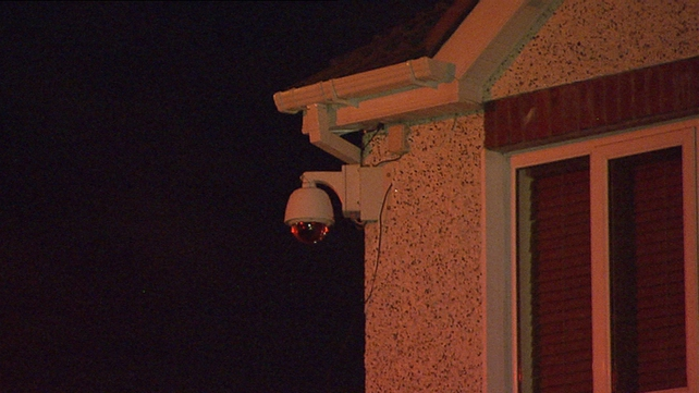 Gardaí are examining CCTV footage from the house