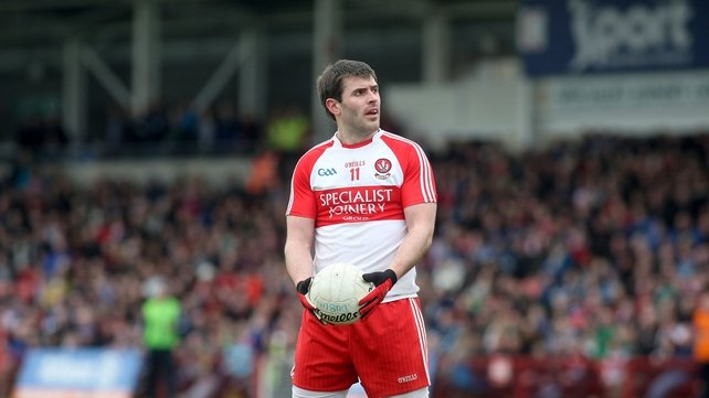 Derry keep cool to claims points in freezing Cavan