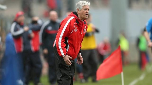 "Brian McIver felt Derry were ""top class"" in their win over Dublin"