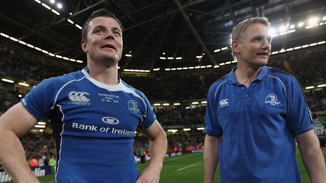 Joe Schmidt coached Brian O'Driscoll with Leinster and Ireland, and said that he learned a lot from him