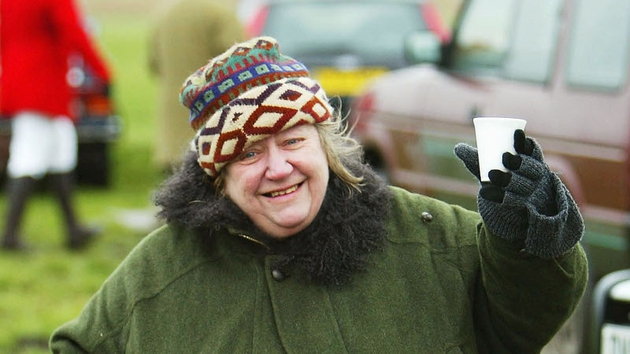 Chef Clarissa Dickson Wright who has passed away aged 66