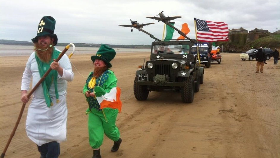 Beach parade in Duncannon, Co Wexford
