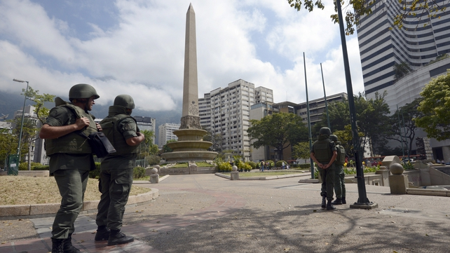 A show of force from the National Guard after the death toll from a month and a half of protests rose to 29