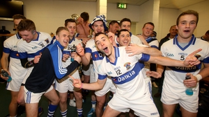 The St Vincent's team celebrate victory