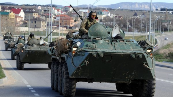 There has been widespread condemnation of Russia's moves to annex Crimea