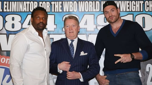 Dereck Chisora and Tyson Fury's showdown seems destined never to take place