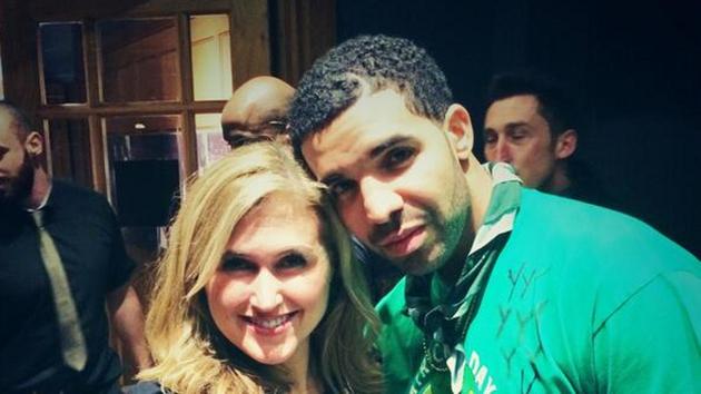 Drake celebrates Paddy's Day in Temple Bar
