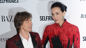L'Wren pictured with Jagger