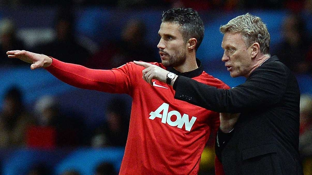 Robin van Persie reckons David Moyes is a sound enough fellow