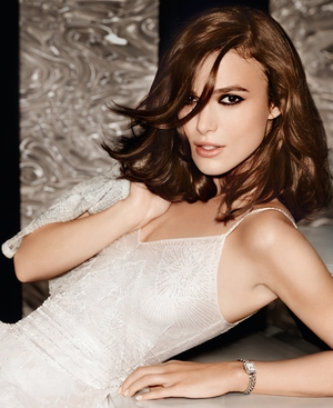 Keira Knightley appears in her third Chanel campaign