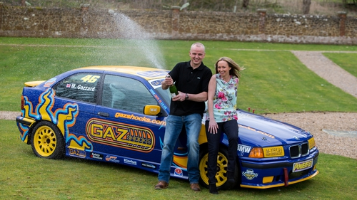 Mr Trotter plans to give up work and indulge his passion for touring car racing