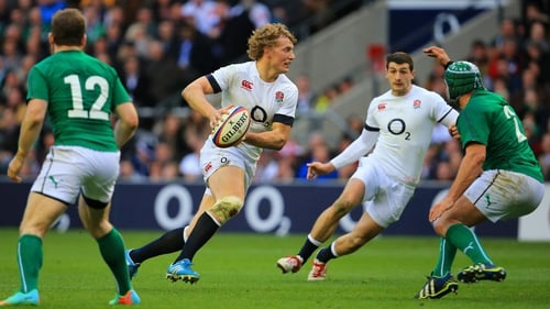 Billy Twelvetrees looks set to miss England's first clash with New Zealand