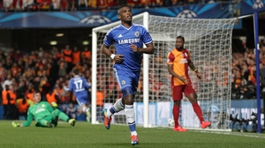 Sameul Eto'o puts Chelsea in front after just four minutes