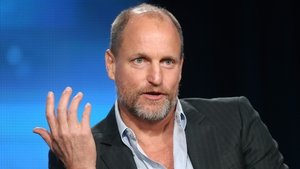 Woody Harrelson - making  comedy capital from taxi misfortune in Lost in London.