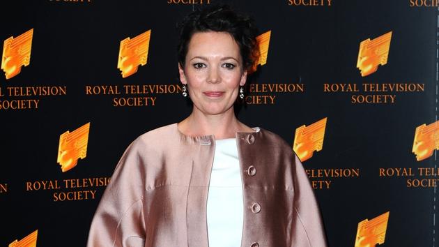 Olivia Colman at last night's RTS awards