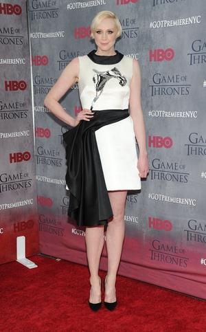 Gwendoline Christie is Brienne of Tarth