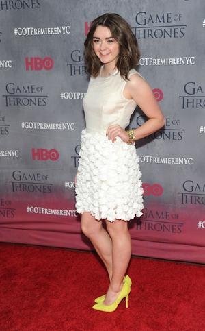 Maisie plays Arya Stark