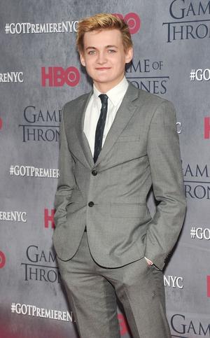 Jack Gleeson plays King Joffrey