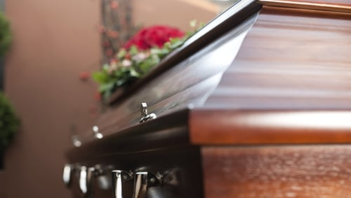 A password protected private weblink to a live stream of the funeral service will be offered