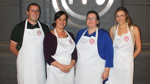 (l-r) Liam Murray, Nessa Collinge, Edel Byrne and Darina Coffey competed on Wednesday night's show