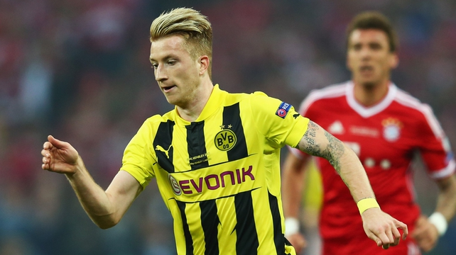 Marco Reus has missed  Dortmund's last two games