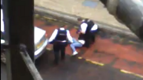 The Police Ombudsman is independently examining the video footage taken in Derry