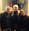Marty meets Friar Alessandro