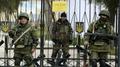 Naval bases topple in Crimea