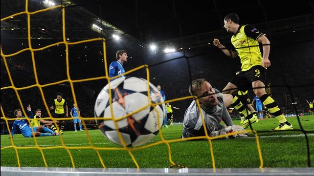 Sebastian Kehl equalised for Dortmund before half-time