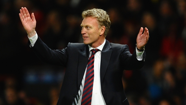 David Moyes said that he did not feel any pressure from inside the club