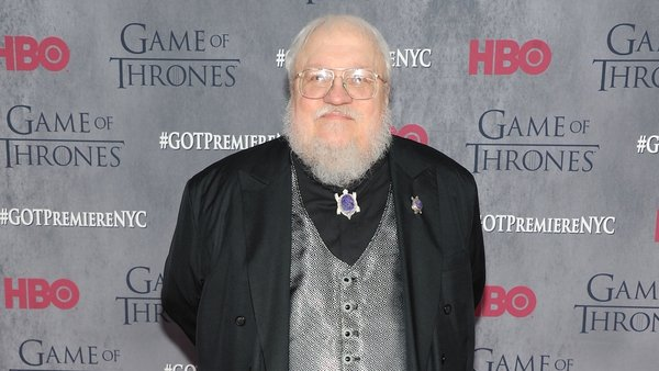 George R.R. Martin at Tuesday's premiere