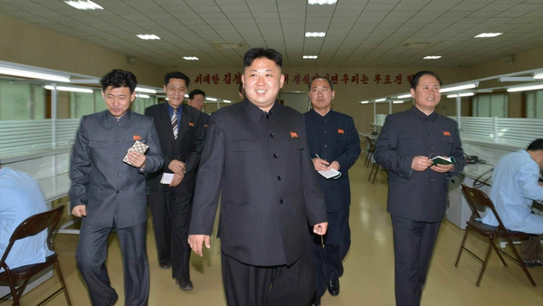 Kim Jong-Un was reported to have personally overseen the most recent missile tests