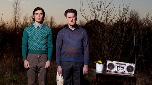 Cillian Murphy and Mikel Murfi