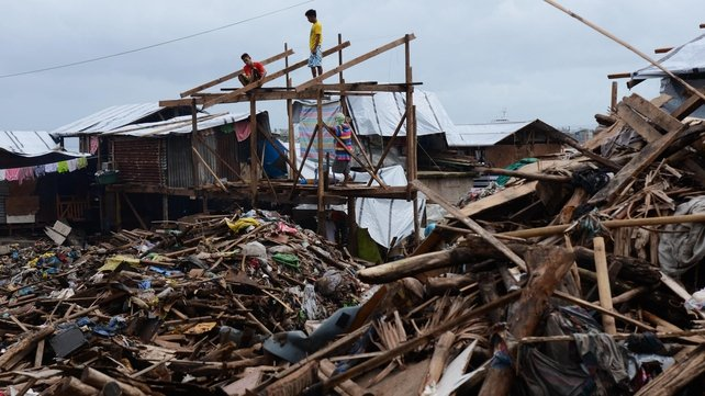 More than 6,000 people were killed by Typhoon Haiyan
