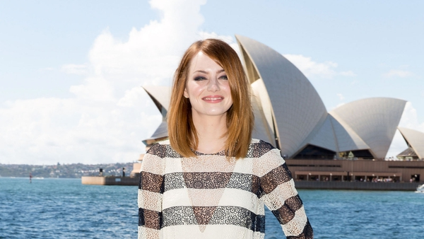 Emma Stone brought to tears by Mel C