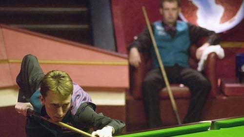 Ken Doherty in action in the 2003 final; the Dubliner lost out to Mark Williams after failing to heed Alex Ferguson's advice