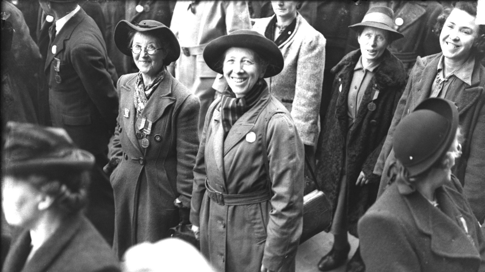 Image - Maire Comerford (centre), seen here c.1940s, was very active during the War of Independence