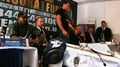 Fury storms out of press conference
